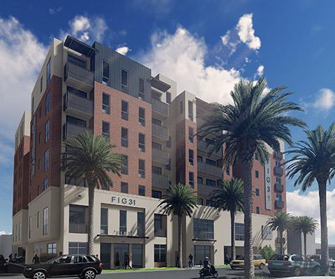 Fig 31 – USC Student Housing